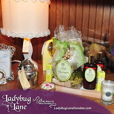 Lotions and aromatherapy